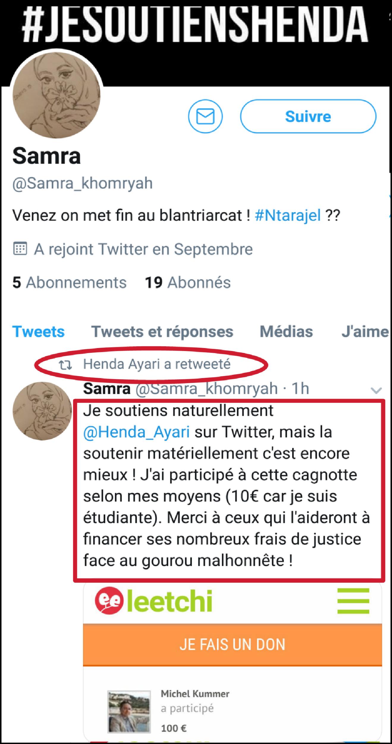 Henda Ayari Accusée De Créer De Faux Ptes Twitter Pour